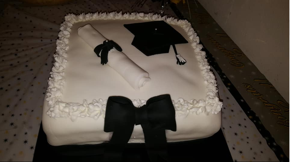 Class of 2018 Baccalaureate Service cake